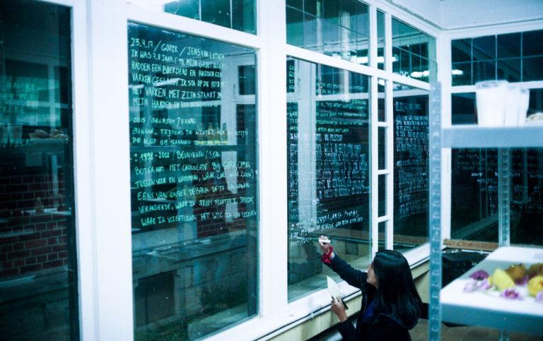 The Memory shop of Bárbara Prada | Photo: Gilles Dusong | In Het Paviljoen 2017.