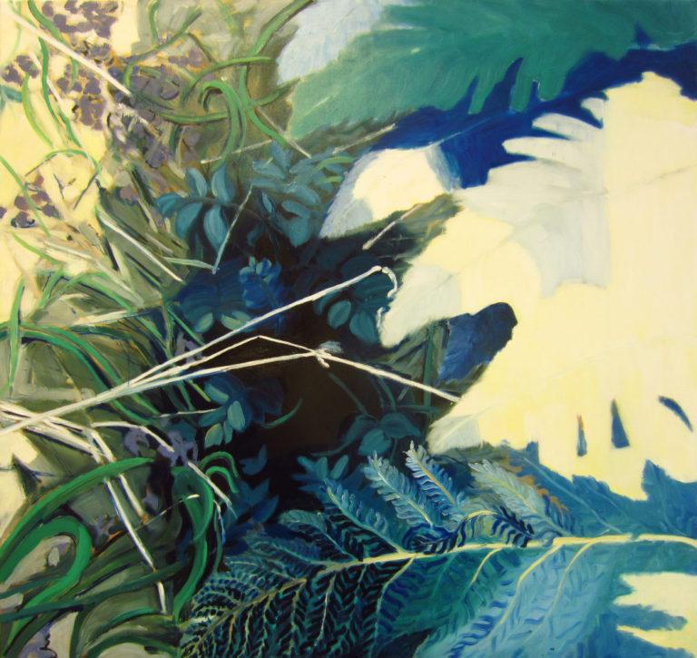 Oil on canvas, 105 x 110 cm