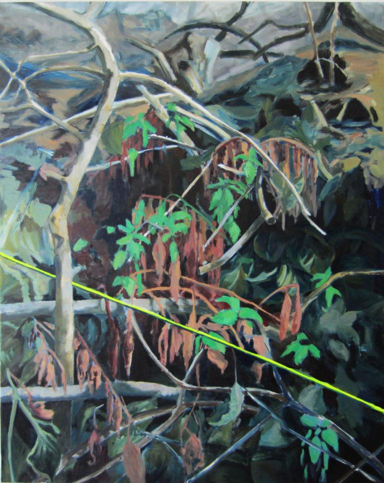 Oil and acryl on canvas, 120 x 150 cm