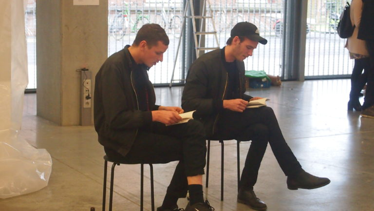Reading by Friedemann Heckel & Lukas Müller