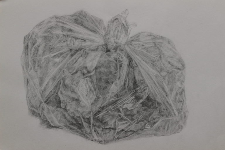Graphite on paper, 29.7x42 cm