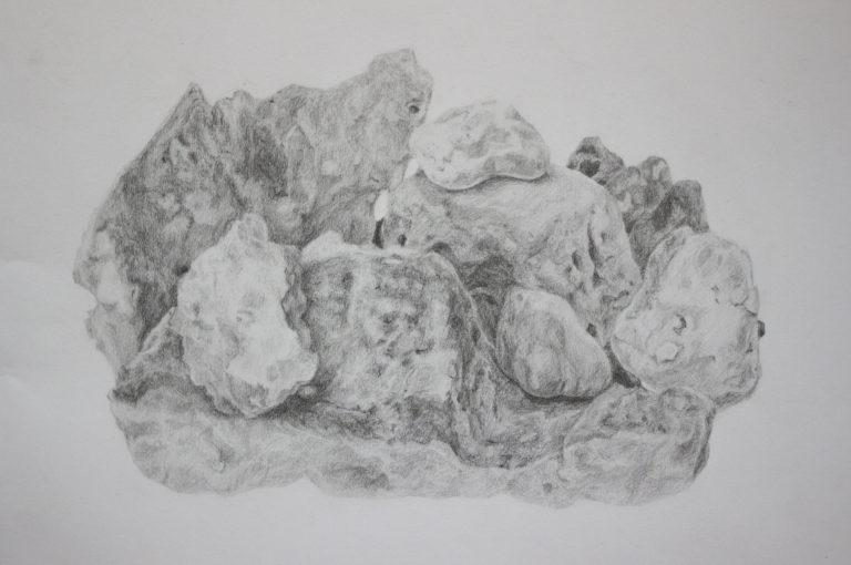 Graphite on paper, 29.7x42 cm