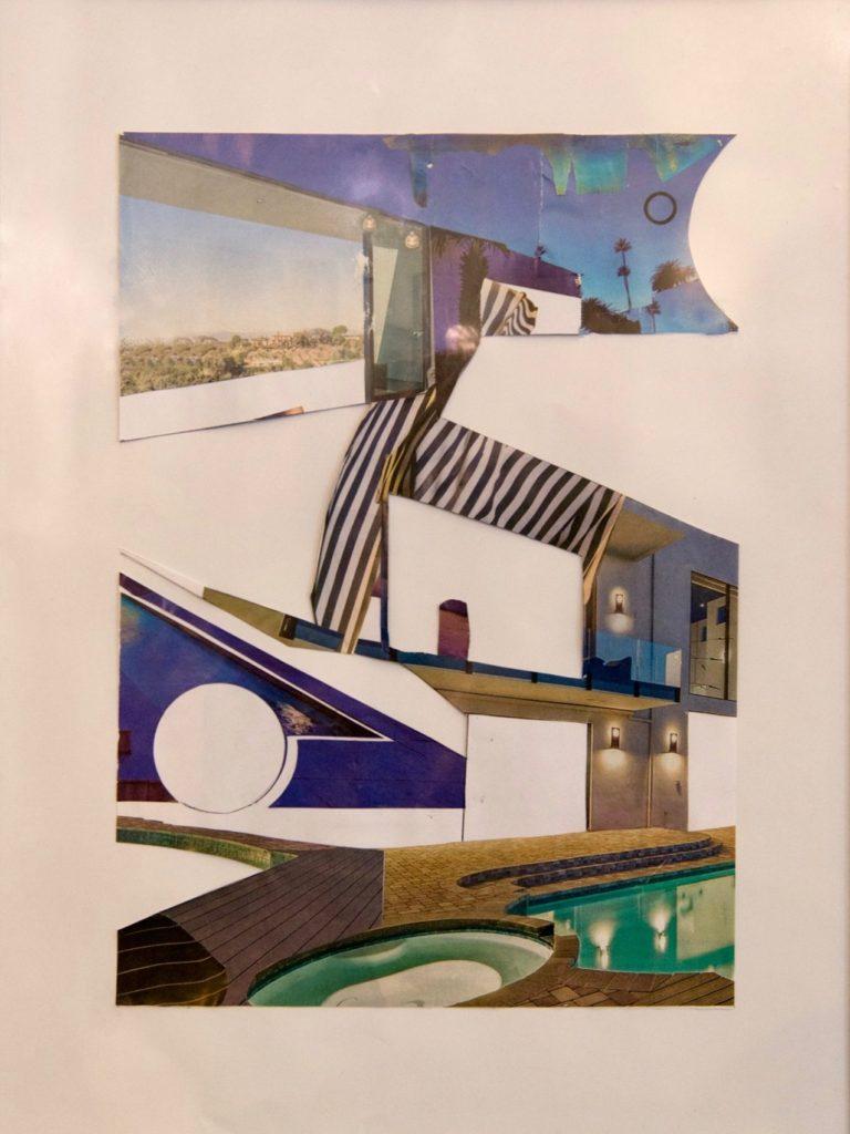 Magazine Collage N°1  29,7x21cm