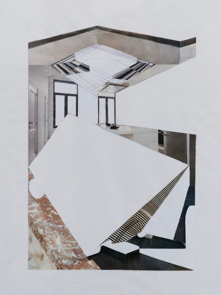 Magazine Collage N°2  29,7x21cm