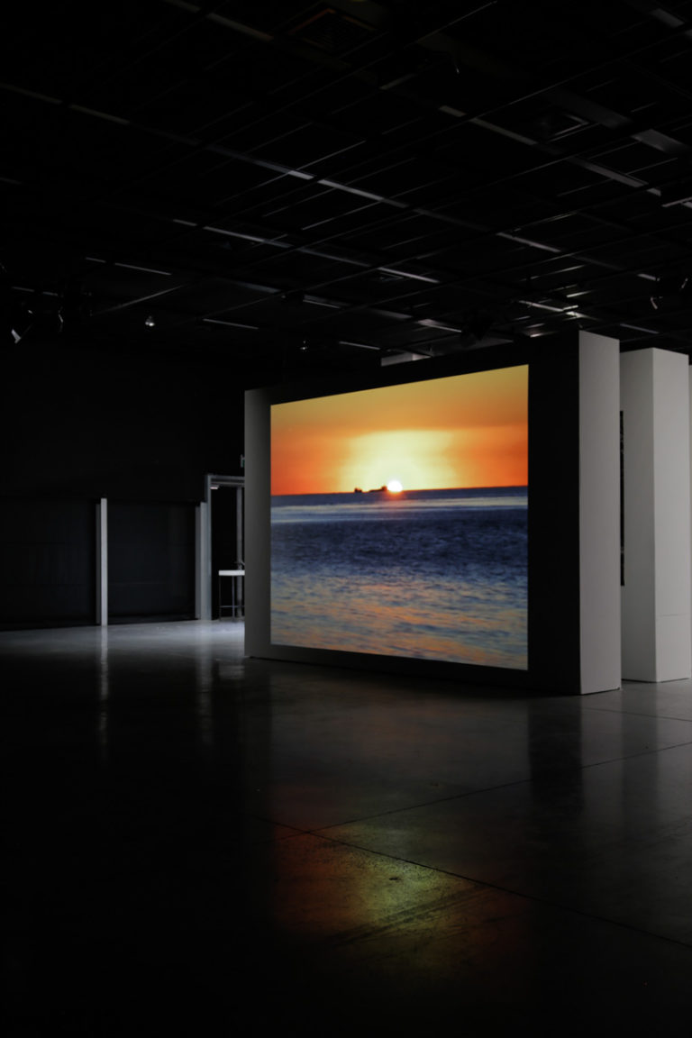 Sunset (two or three things I remember from Lisbon), 2016   Video installation, 5h loop.