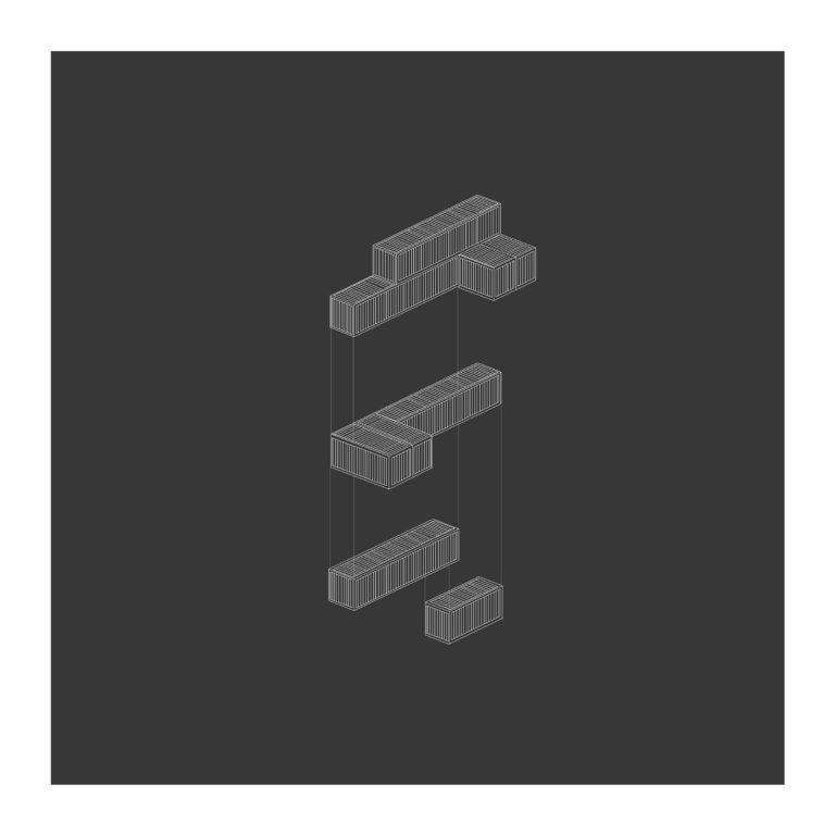 isometrie samenstelling van de containers