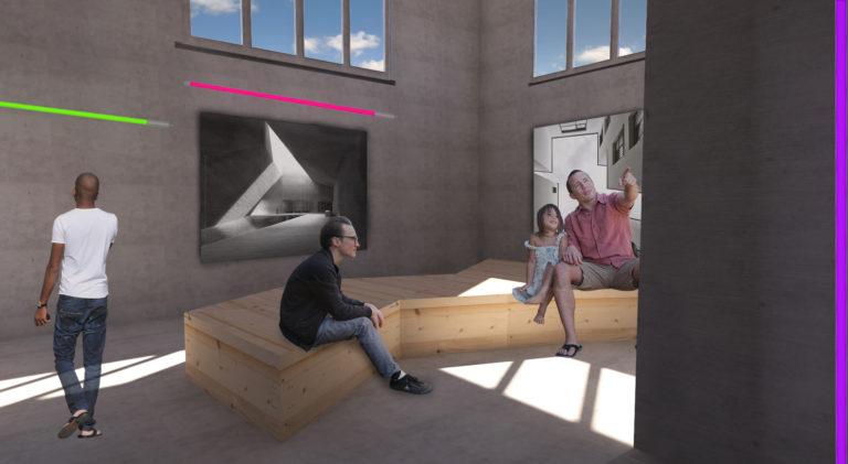 Interieur - tentoonstellingsruimte