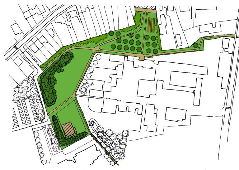 Tuin - Park _ plek voor het dorp