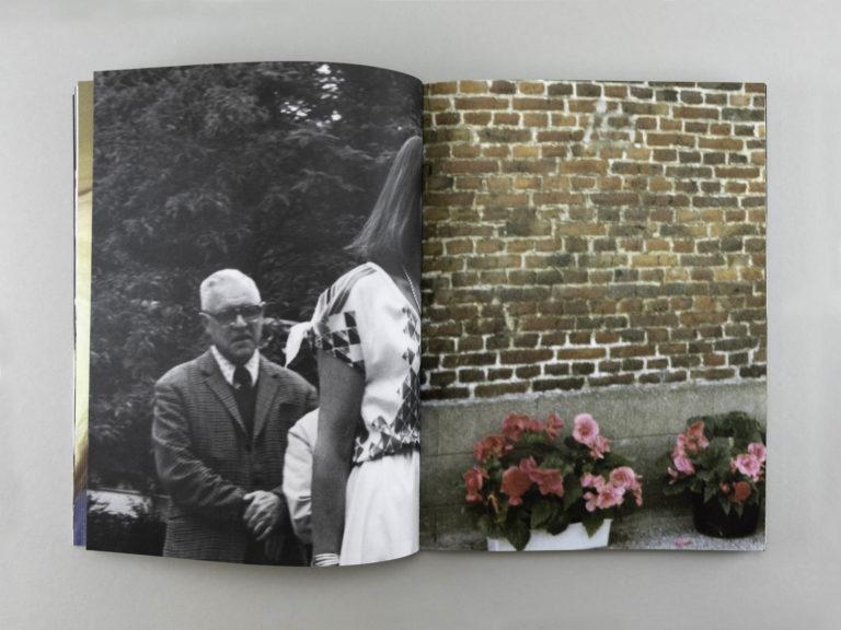 Spread from the book For Brigitte