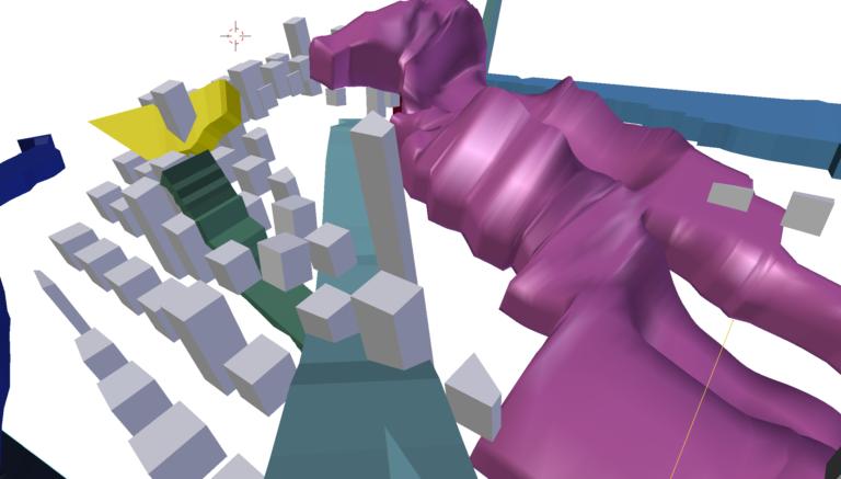Still uit simulatie, samenwerking met Fons Artois