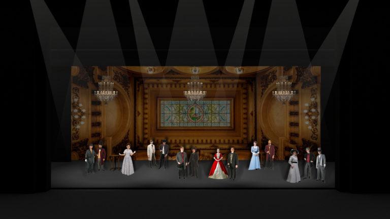 Foyer aan de opera