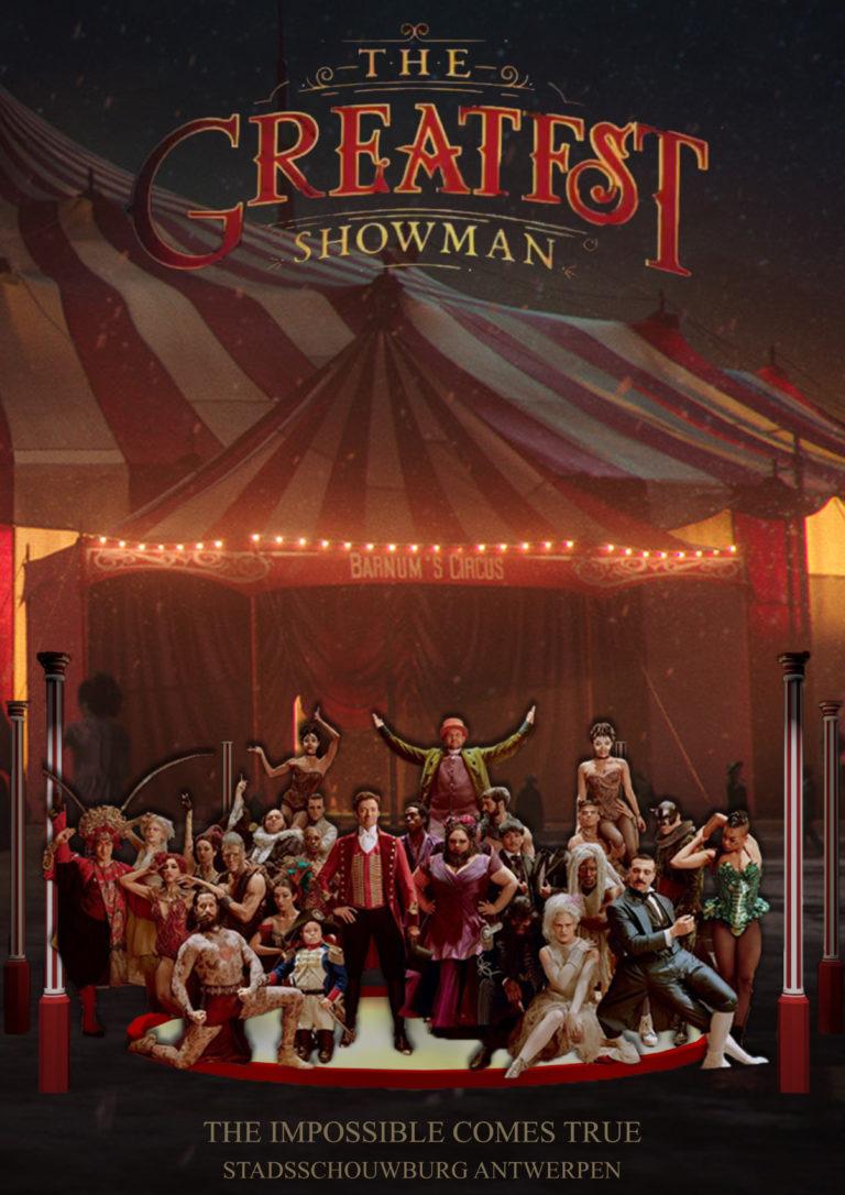 Affiche voor de musical