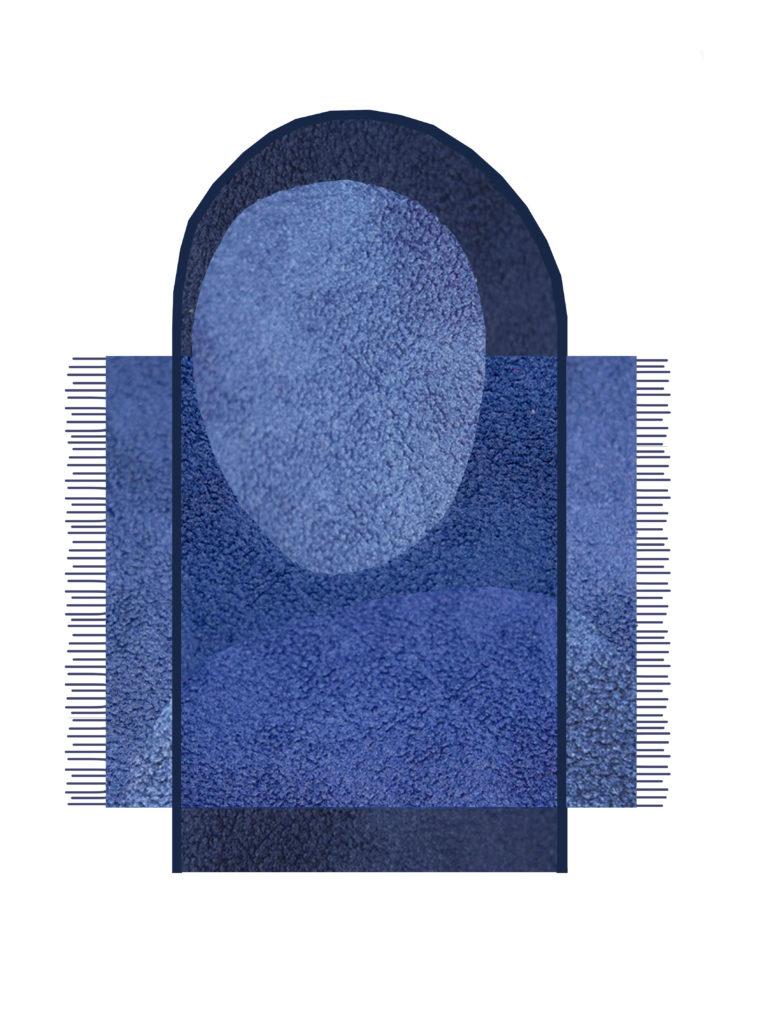 PAST blue carpet