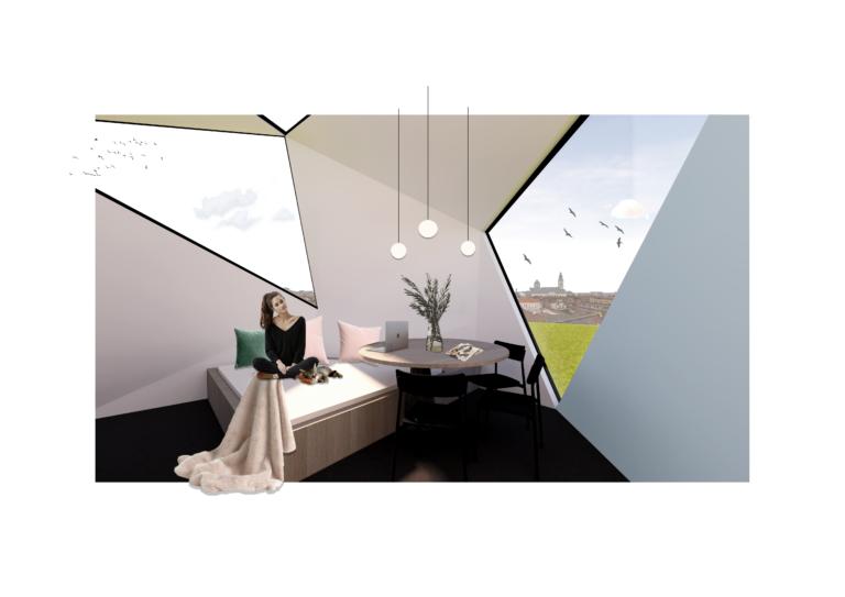 Micro-wonen: oppervlakte van 90m²