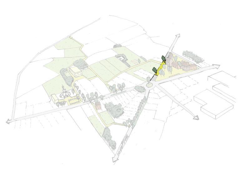 Knippen in de weg om ruimte te bieden aan kwalitatieve ontwikkelingen + alternatieve routes voorzien voor ontsluiting
