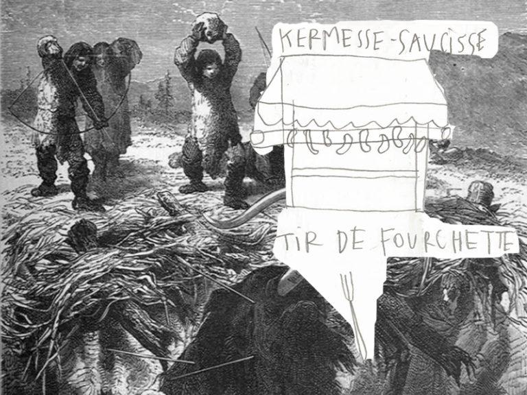 caption from book, kermesse-saucisse