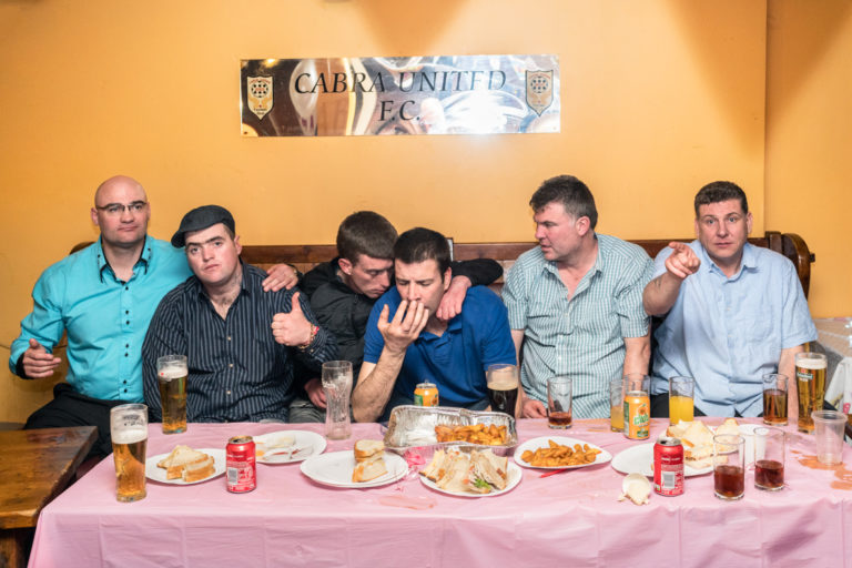Afterparty for a holy communion in the Cabra House near Finglas East.