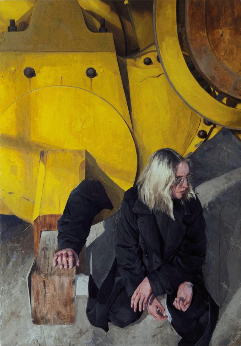 Inertia - Oil on canvas - 70x100cm