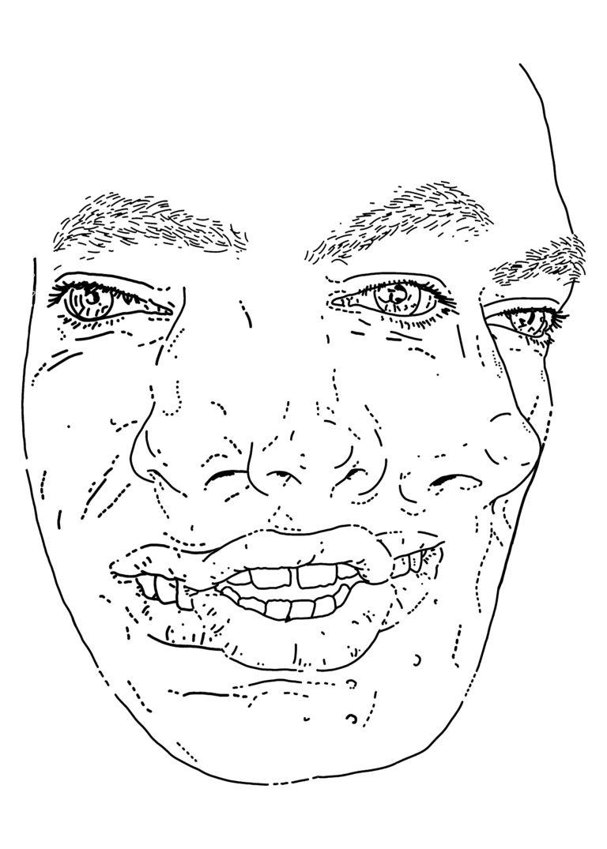 Composite self-portrait (JFK1)